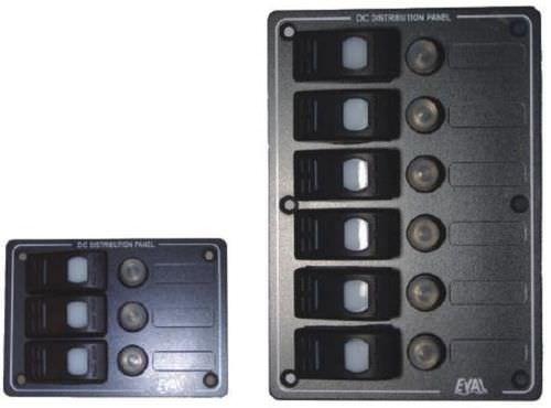 tableau électrique pour bateau / étanche / LED