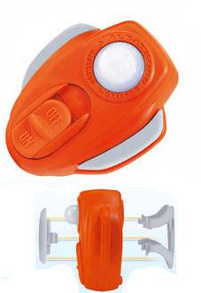 lampe à éclats / marine / pour gilet de sauvetage / SOLAS