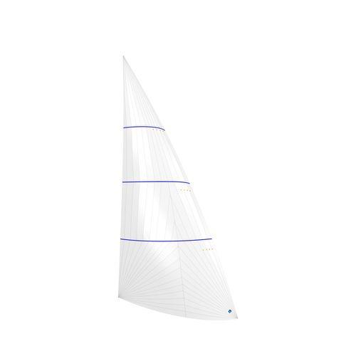 gennaker / pour voilier de course-croisière / coupe tri-radiale