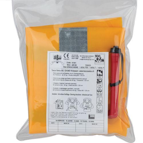 gilet de sauvetage gonflable automatique / 100 N