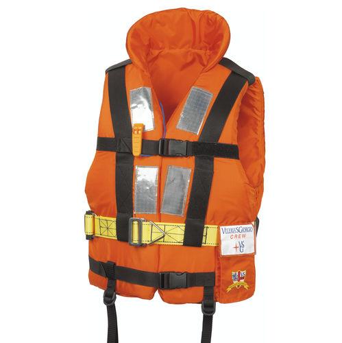 gilet de sauvetage en mousse / 150 N / avec harnais de sécurité / à usage professionnel