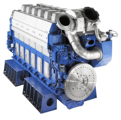 moteur semi rapide pour navire / diesel / turbo / Tier 2
