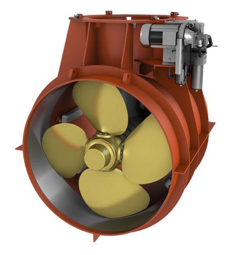 propulseur d'étrave / pour navire / hydraulique / à tunnel