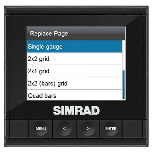 afficheur pour bateau / multifonction / numérique / LCD