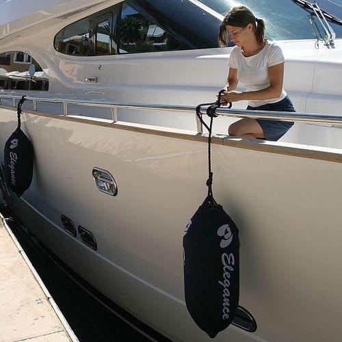 chaussette pour pare-battage pour bateau / personnalisé / sur mesure