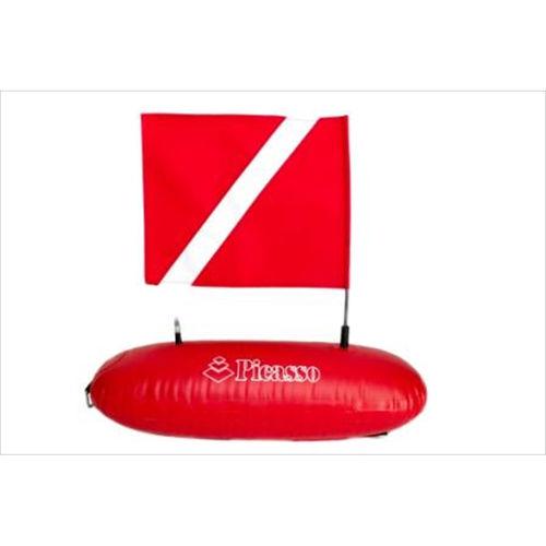 bouée de signalisation de plongée / marque spéciale / gonflable / en hypalon