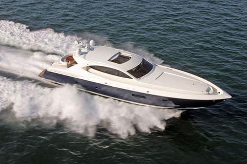 motor-yacht rapide / hard-top / en composite / aluminium