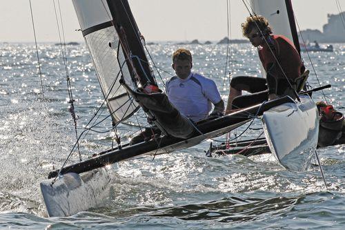 catamaran de sport de loisir