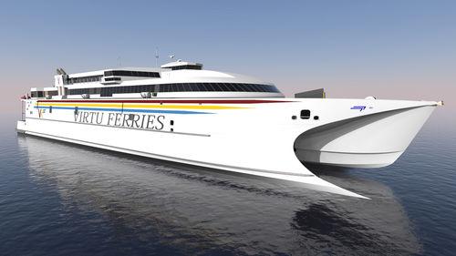 car-ferry à grande vitesse - INCAT