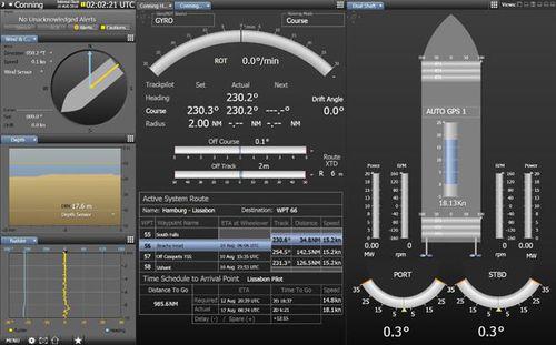 logiciel de navigation / pour navire
