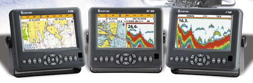 GPS / lecteur de cartes / écho-sondeur / pour bateau
