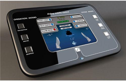système électronique de contrôle pour stabilisateur de yacht