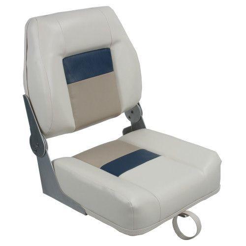 siège pilote / pour bass-boat / rabattable / à dossier rabattable