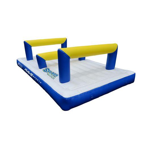 jeu aquatique saut en hauteur