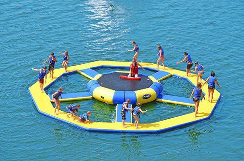 jeu aquatique parc
