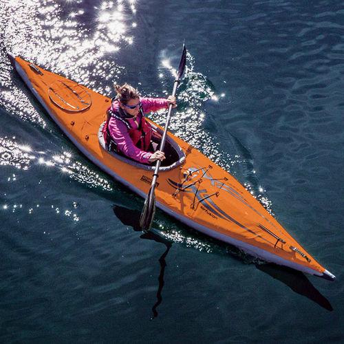 kayak gonflable / de randonnée / monoplace