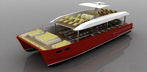 motor-yacht catamaran