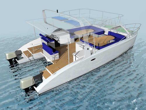 vedette catamaran