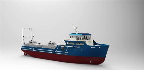 navire de service offshore de ravitaillement