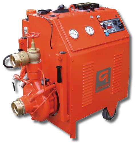 pompe pour bateau professionnel / pour système de lutte contre le feu / à eau / à moteur diesel