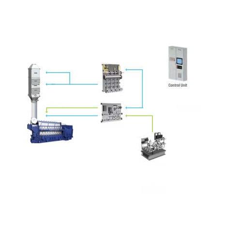 système de réduction sélective catalytique pour navire / SCR / NOx