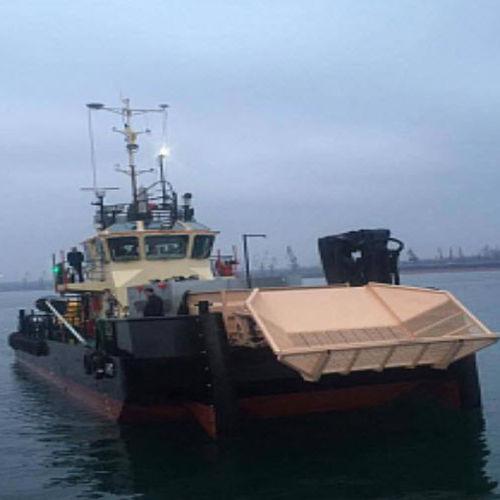 bateau professionnel bateau de récupération des hydrocarbures