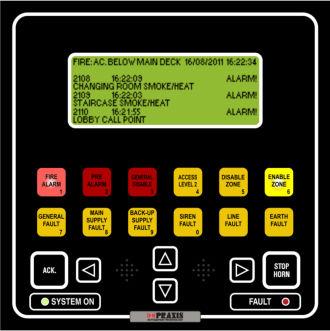 système d'alarme pour navire