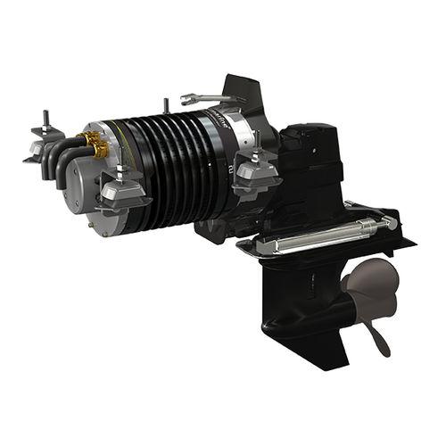 système de propulsion pour bateau / pour bateau professionnel / pour barge / à moteur électrique