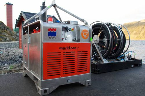 groupe hydraulique pour navire anti-pollution