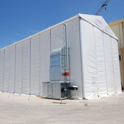 cabine de sablage pour chantier naval - Yachtgarage