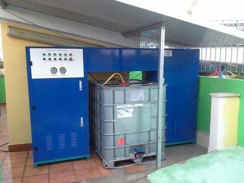 système de traitement d'eaux usées