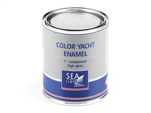peinture pour bateau de plaisance / monocomposant / topcoat / brillante
