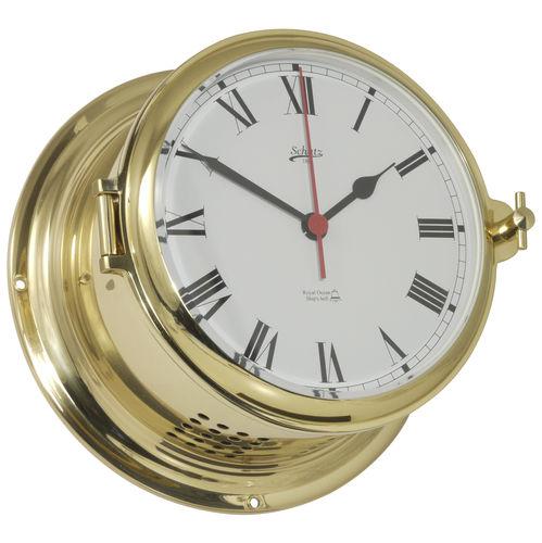 horloge analogique / en laiton / avec sonnette
