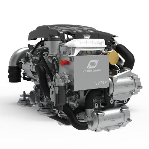 moteur in-bord hydrojet / plaisance / diesel / turbo à géométrie variable