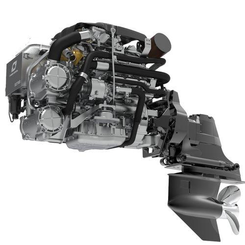 moteur stern-drive / plaisance / diesel