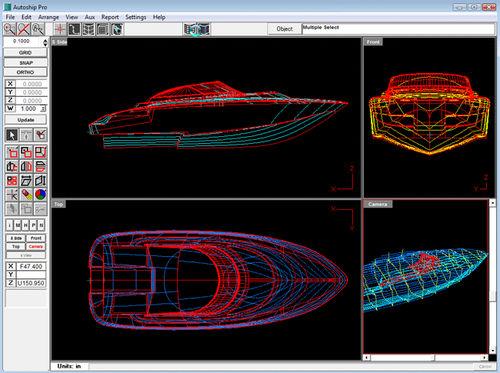 logiciel pour conception de coque / de calcul / pour bateau