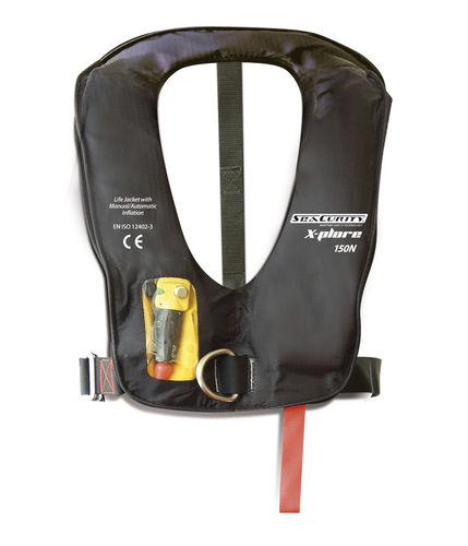 gilet de sauvetage gonflable automatique / 150 N / 275 N / à usage professionnel