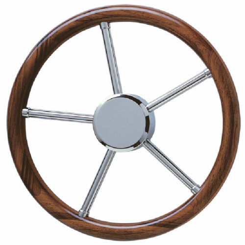 volant en inox pour bateau à moteur