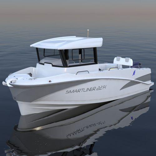 bateau de pêche-promenade hors-bord - SMARTLINER