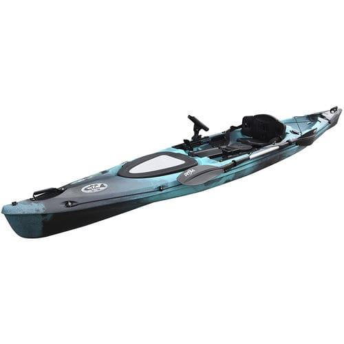 kayak sit-on-top / rigide / de pêche / de course