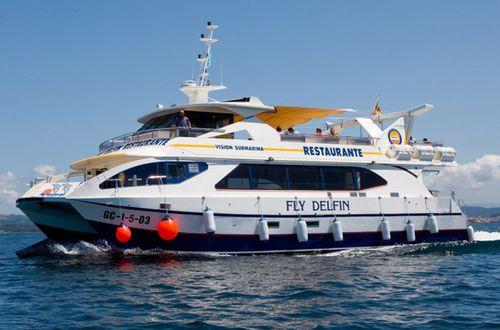 bateau promenade / catamaran / in-bord