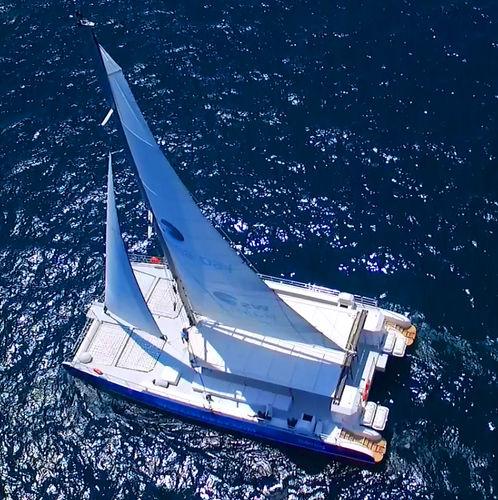 bateau à passagers / catamaran / in-bord