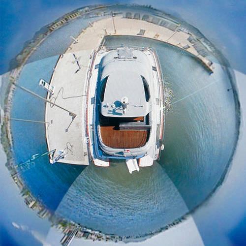 système de caméra vidéo pour yacht / pour navire / de vidéosurveillance / HD