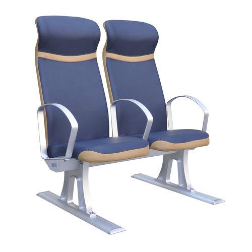 siège pour navire à passagers / avec accoudoirs / 2 places
