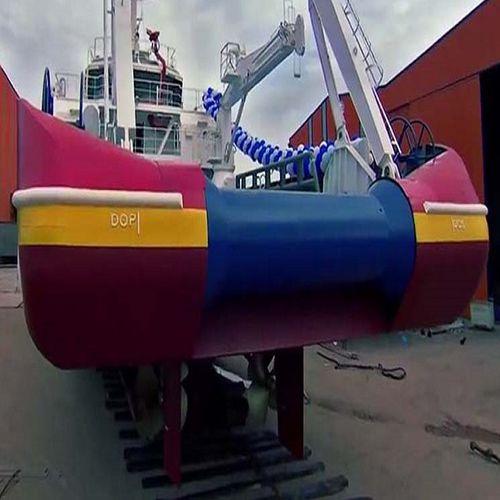 rouleau de poupe pour navire