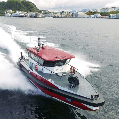 bateau professionnel bateau de support pour la plongée