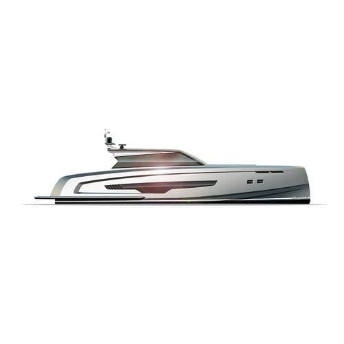 motor-yacht de sport / open / IPS / en aluminium