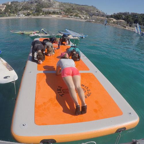 plateforme pour bateau