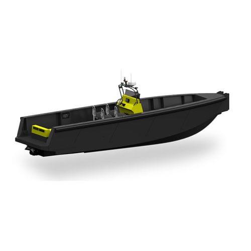bateau de support pour la plongée - Tideman Boats BV