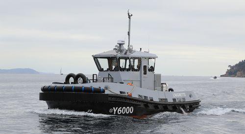 bateau professionnel remorqueur